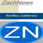 Needles, CA: Local independent news service ZachNews celebrates 11th anniversary.