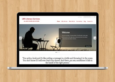 LWS Literary Services – Website Design