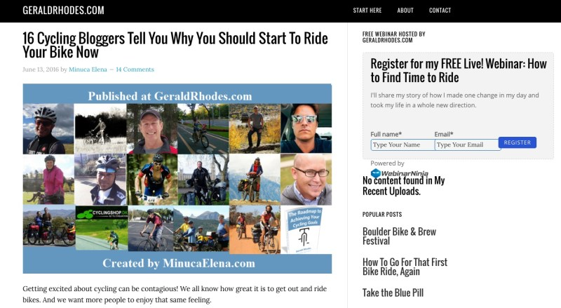 16_Cycling_Bloggers_Tell_You_Why_You_Should_Start_To_Ride_Your_Bike_Now_-_GeraldRhodes_com