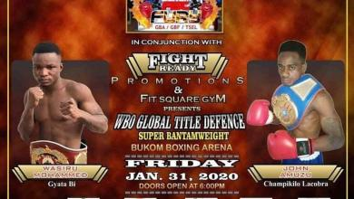 Fist of Fury II boxing league comes off on January 31 – Citi Sports Online