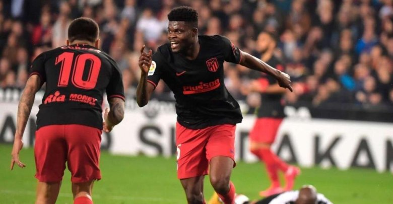Ghana's Thomas Partey scores against Valencia but Atletico fail to win yet again [PHOTOS] – Citi Sports Online