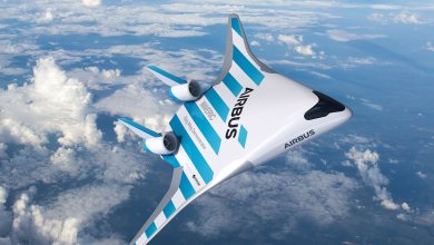 """It features an innovative design - known as a """"blended wing body."""""""