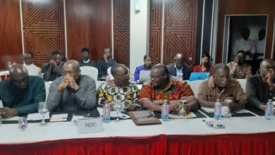 NDC at meeting for final roadmap to ending political vigilantism