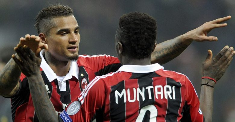 See Muntari's beautiful volley that helped AC Milan beat unstoppable Barcelona [VIDEO] – Citi Sports Online