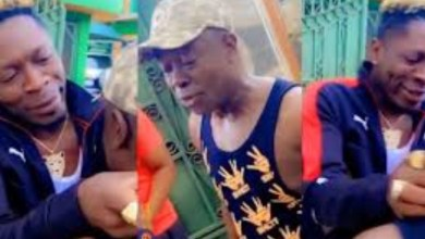 Wow!, Check Out What Shatta Wale Surprised His Father With As A Birthday Present