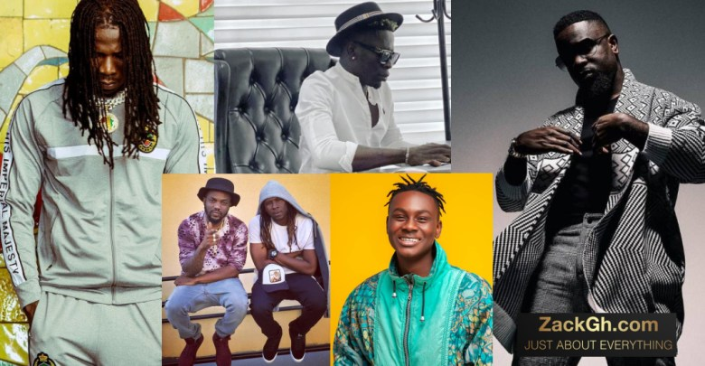 Top 10 Most Streamed Ghanaian Artistes On Audiomack