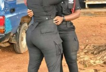"Two Beautiful Female Police Officers Breaks Internet with Their Huge ""TRUMU"""