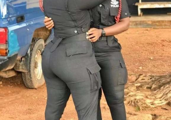 "Two Beautiful Female Police Officers Breaks Internet with Their Huge ""TRUMU"""
