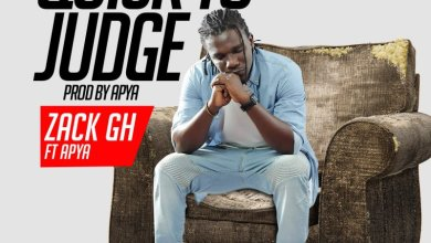 Zack Gh - Quick To Judge ft Apya (Lyrics)