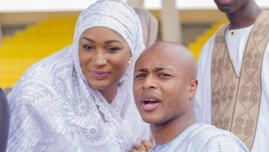 Andre Ayew and Samira Bawumia's photo got a lot of comments, see why.