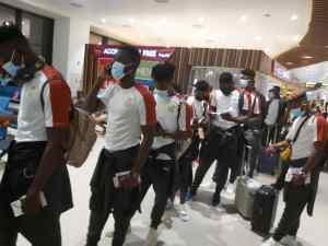 Team Ghana Departs Accra For Tashkent For Uzbekistan Friendly