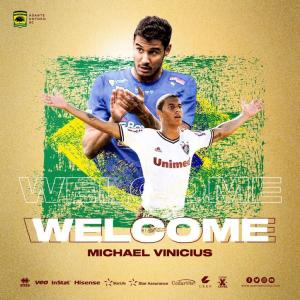 Asante Kotoko completes the signing of Brazilian striker