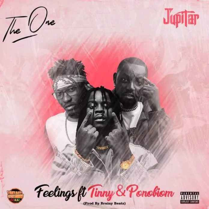 """Feelings By Jupitar ft Tinny, Yaa Pono Off The One Album [Full MP3 Audio] Ghanaian reggae-dancehall musician, Jupitar finally blesses his music fans with the long-awaited body of work dubbed """"THE ONE ALBUM"""" in welcoming them into the new year.  Off this latest Album """"The One"""", Jupitar updates our playlist with this beautiful well-crafted record titled """"Feelings"""" featuring Tinny and Yaa Pono (Ponobiom). Production credit to Brainy Beatz. Listen and enjoy JUPITAR FEELINGS.  ENJOYED JUPITAR FEELINGS, CHECK THIS OUT: Jupitar – So Mi Mu    advertisement          Jupitar – Feelings ft Tinny x Yaa Pono  [Download]"""