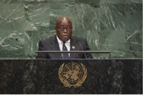 First In History We fix, NDC only destroys; Ghanaians deserve better than lesson-learning experimenters – Akufo-Addo.