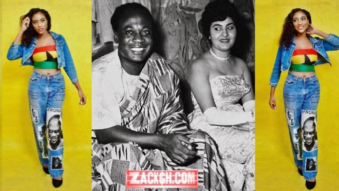 Photos of Kwame Nkrumah's Beautiful Granddaughter Pop Up Online