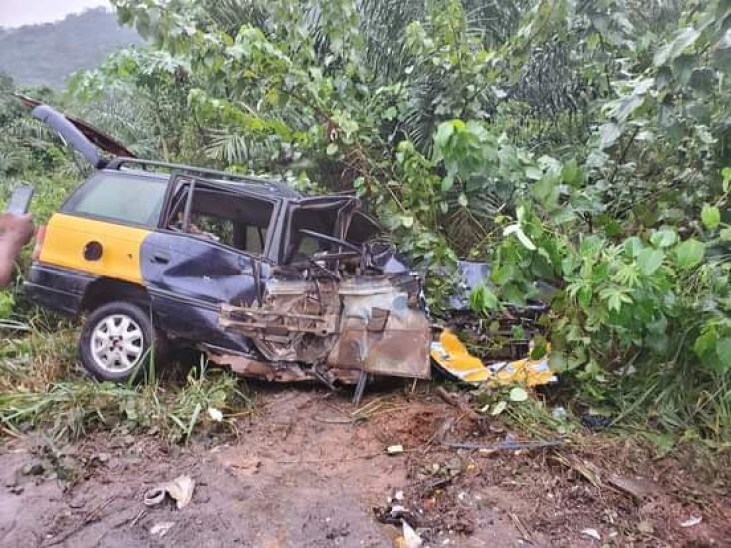 Prophet Nigel Gaisie Encounters Accident While Traveling To Volta Region This Afternoon