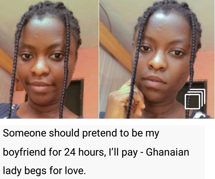 I Will Pay Any Guy Who Will Pretend To Love Me For Just 24 Hours, I'll Pay - Lady Cries On Social Media