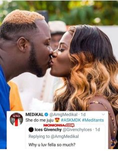 "585D42E0 D843 4646 B5C0 9AE92157002B ""Fella Makafui Took Me To 'Juju'"" – Medikal Shockingly Confess (Screenshot)"