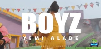 Official Video: Yemi Alade – Boyz