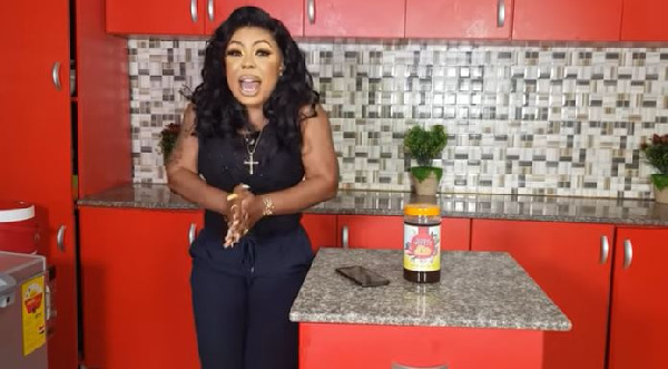 Afia Shwarzenegger alleges an artiste has bought a Range Rover on credit