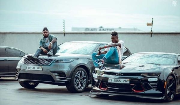 Keche Andrew and Keche Joshua flaunt their new cars
