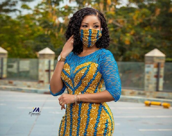 Serwaa Amihere called out for double standards on coronavirus safety protocols