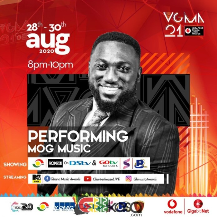 Full List Of Artistes To Be Perform At The VGMA 2020