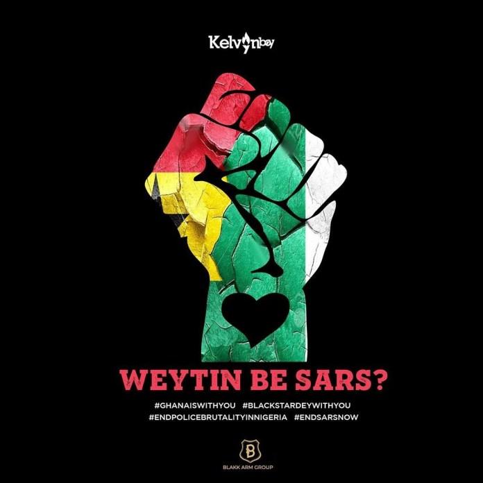 DOWNLOAD MP3: Kelvyn Boy – Weytin Be Sars?