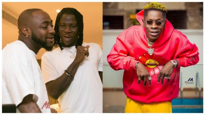 Shatta Wale Subdued Trolls Davido and Stonebwoy.
