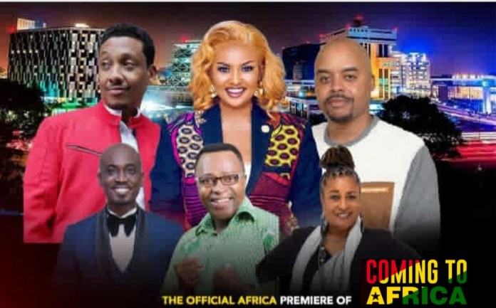 American Movie 'Coming To Africa' Which Features Ghanaian Stars Premieres in Ghana On 4th Dec