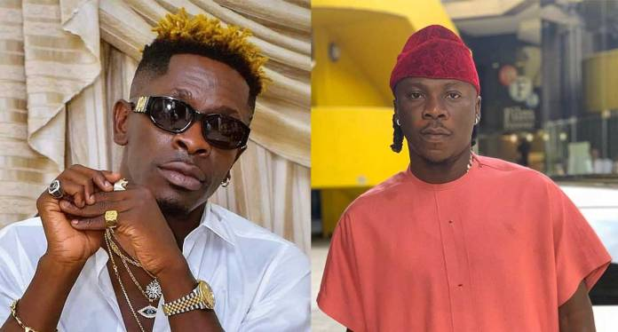 See How Shatta Wale And Stonebwoy's Former Manager, Blakk Cedi Meet Publicly In A Long While And Hang Out (Video)