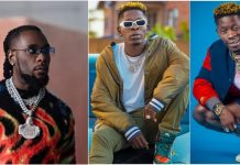 Shatta Wale Puts Burna Boy On The Blast, Explains Why They Are No longer Friends (+Photo)