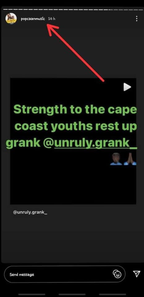 0B18940E C1FF 40C3 A7A3 17E413FEF6BC Popcaan finally reacts to the death of Unruly Grank