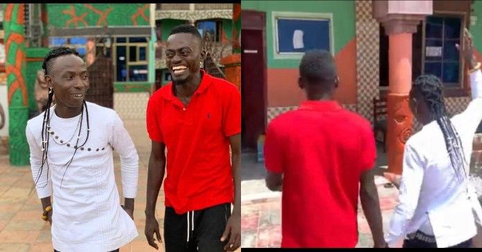 Video Of Patapaa And Lil Win Squash Their Beef As He Visits Him At His School