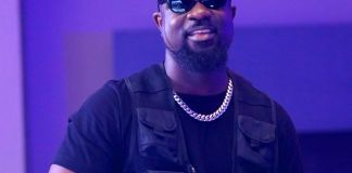 Sarkodie Links Up With Black Sherif At A Video Shoot And Jam Together With His Latest '1st Sermon' [Watch]