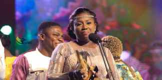 Diana Antwi Hamilton Beats Tough Competition To Emerge Artiste Of The Year