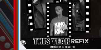 Mr Drew Ft Medikal - This Year Refix (Mixed By DJ Sonatty)