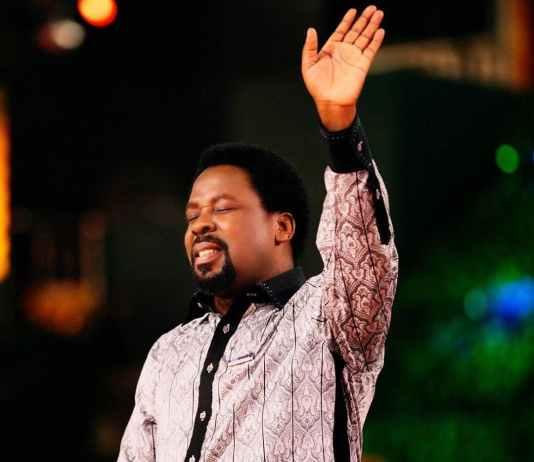 SAD: Prophet T.B. Joshua is dead