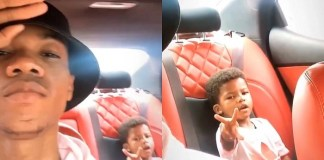 Watch KiDi's Son's Epic Reaction As He Hears His Name In His Father's Song, 'Golden Boy' – See Video