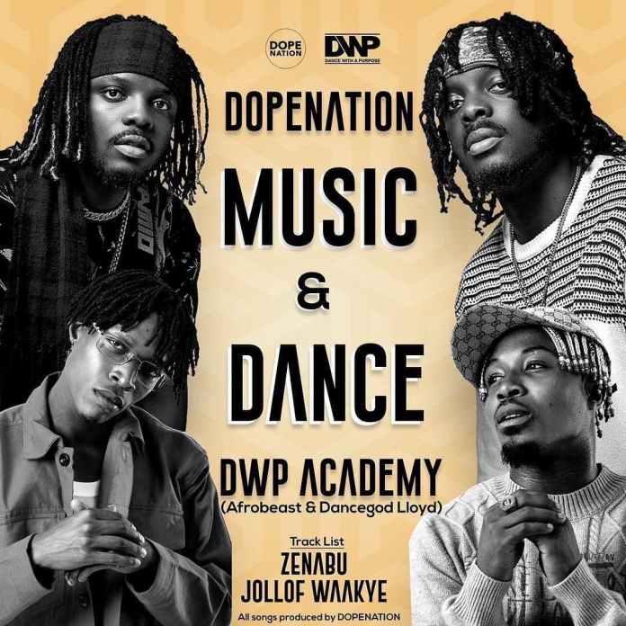 DopeNation - Jollof Waakye Ft Dancegod Lloyd x Afrobeast