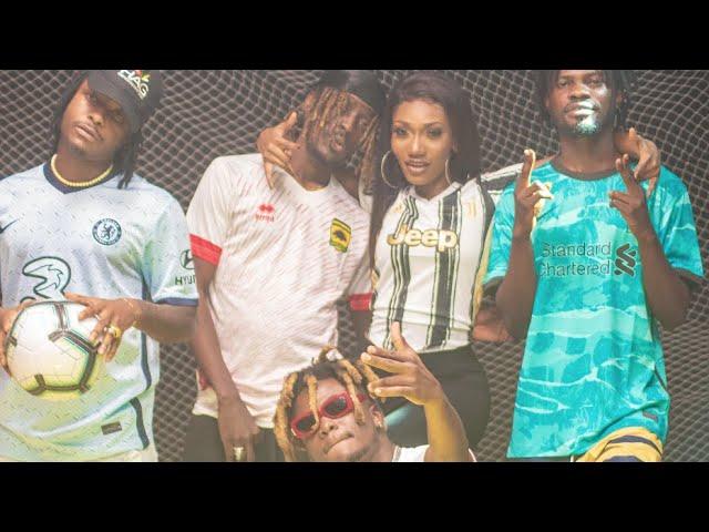 Wendy Shay – Champions League ft. Fameye, Kelvyn Boy, Quamina MP & Kofi Mole (Official Video)