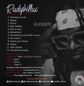 Rudeboy – Rudykillus (Full Album)