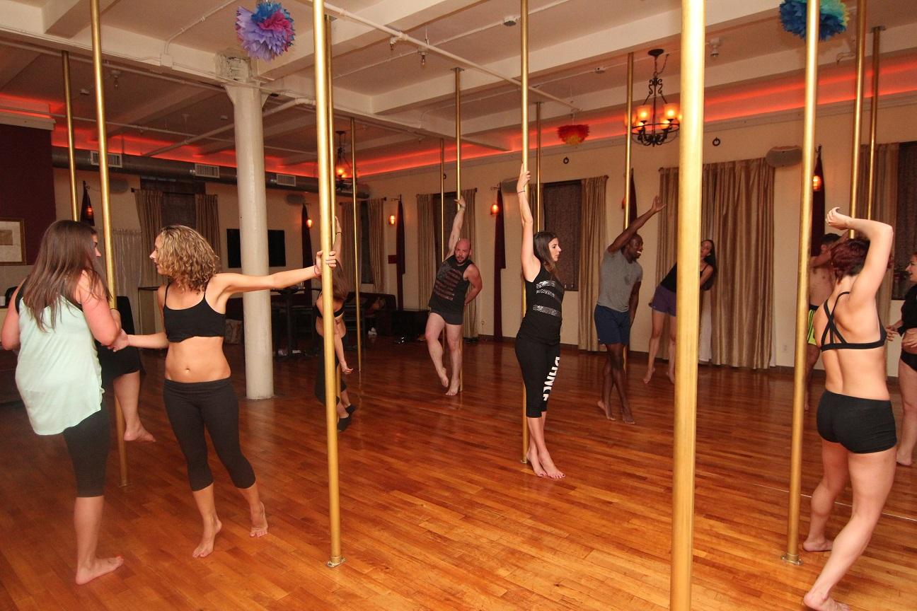 Private Bachelorette Party Pole Dance Class Venue, NYC
