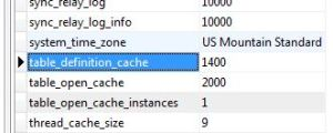 table-cache