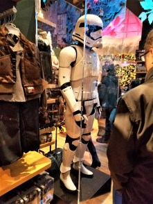 Disney bought Star Wars/Marvel, but it was still kind of jarring too see Storm Troopers in the Disney store in Times.