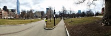 Love the park and the overlooking buildings