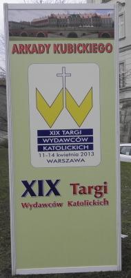 XIX Targi Wydawców Katolickich w Warszawie