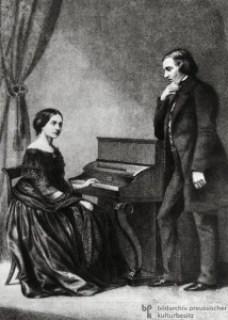 Klara i Robert Schumannowie