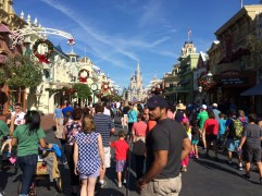 We are on Main Street, U.S.A.!