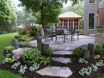 15 landscaping ideas around patio and